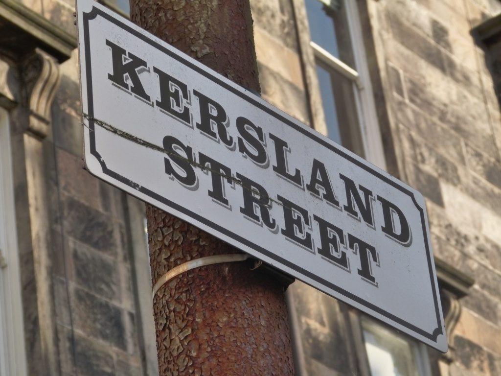 Kersland Street Sign